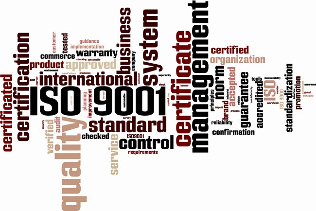 ISO 9001 Compliant Quality Management System