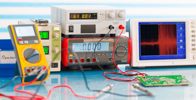 calibration of measuring instruments