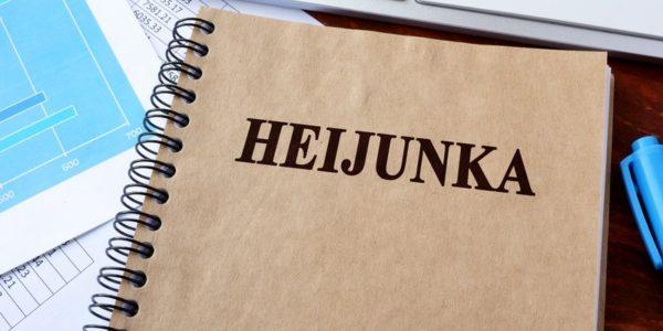 Heijunka production leveling