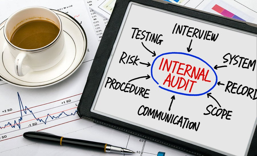 conducting internal audits