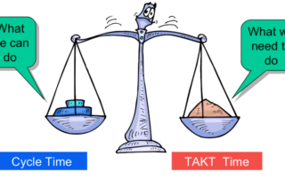 takt time vs cycle time