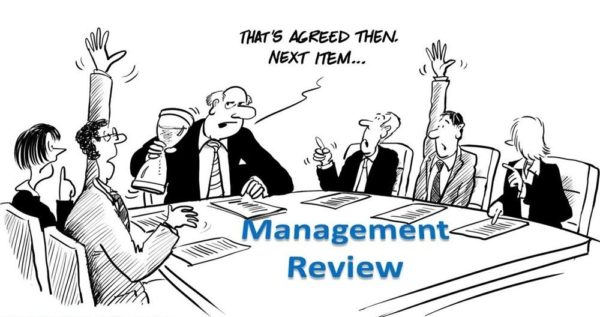 iso 9001 management review