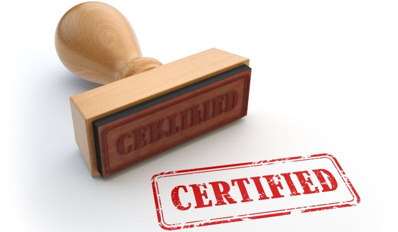 difference between compliance and certification