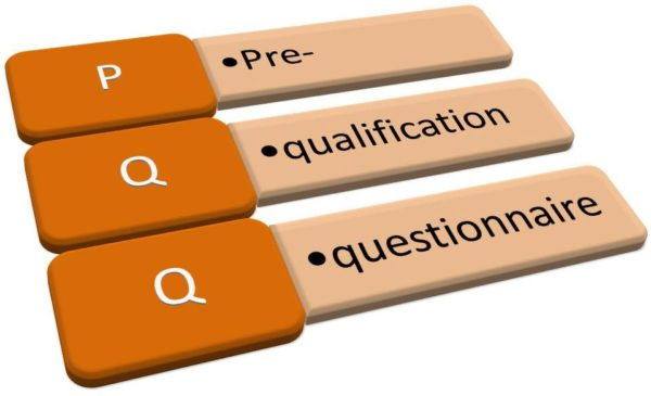 prequalification of suppliers