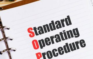why do we need standard operating procedures